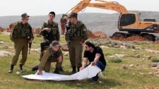 İsrail Beytüllahim'de Filistinlilerin arazilerini gasp etti