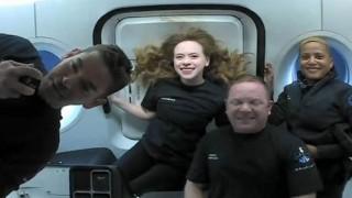 Uzay turistleri'nden ilk fotoğraflar geldi