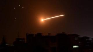 İsrail'den Suriye'deki askeri hava üssüne saldırı
